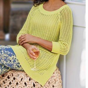 Soft Surroundings   Women's Bree Sweater Size L